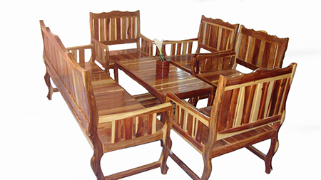 get rid of drywood termites by destroying wooden furniture
